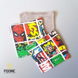 "Coton lavable ""Super hero"""