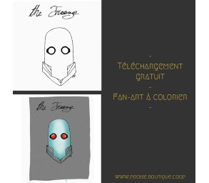 Fan-art à colorier « Mr...