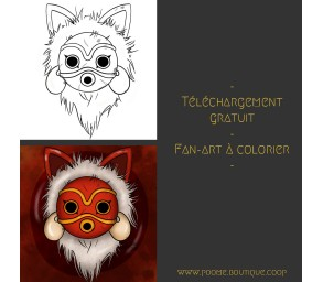 Fan-art à colorier «...