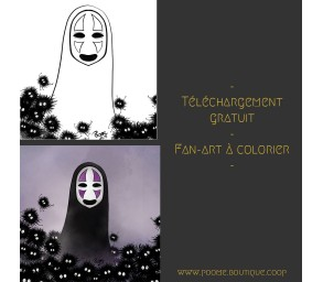 Fan-art à colorier « Sans...