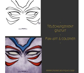 Fan-art à colorier « Oni...