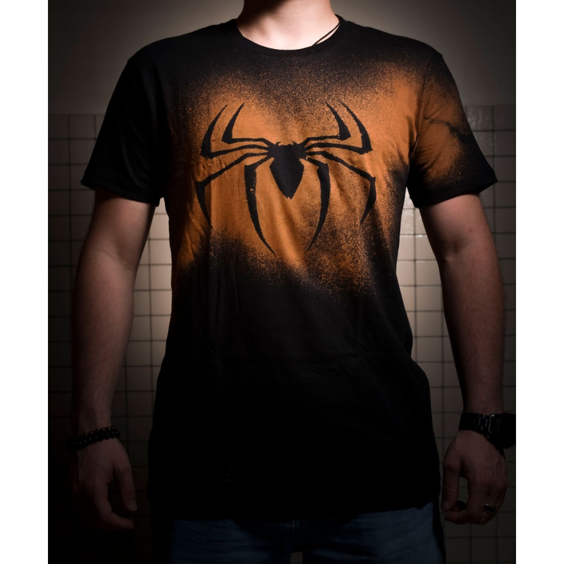 t-shirt geek et manga jeux video unisexe  homme spiderman