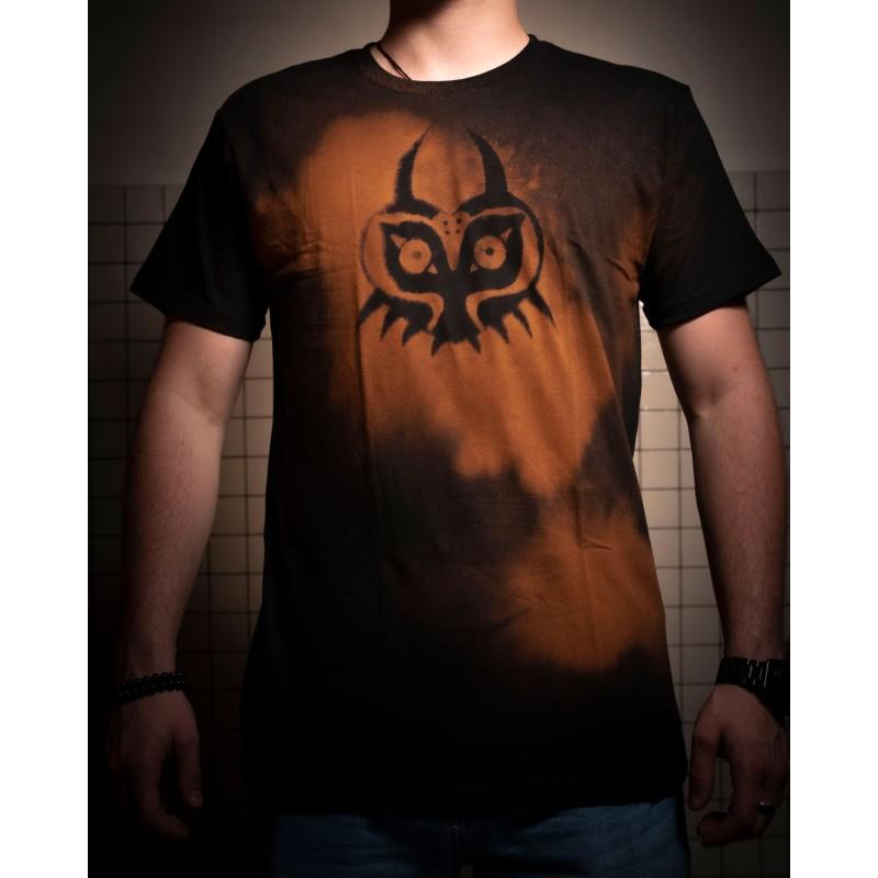 T-shirt Majora s mask du jeux video the legend of zelda
